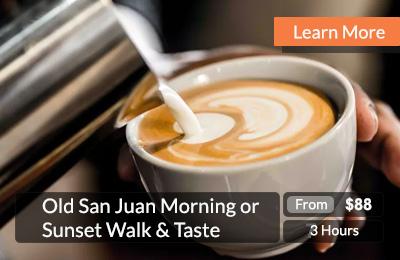 Old San Juan Morning Sunset Walk Taste